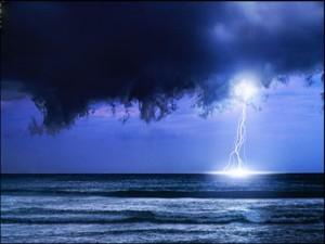 OCEAN-STORM lightning